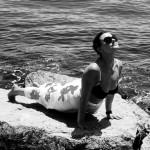 powitanie słońca, joga, wakacje